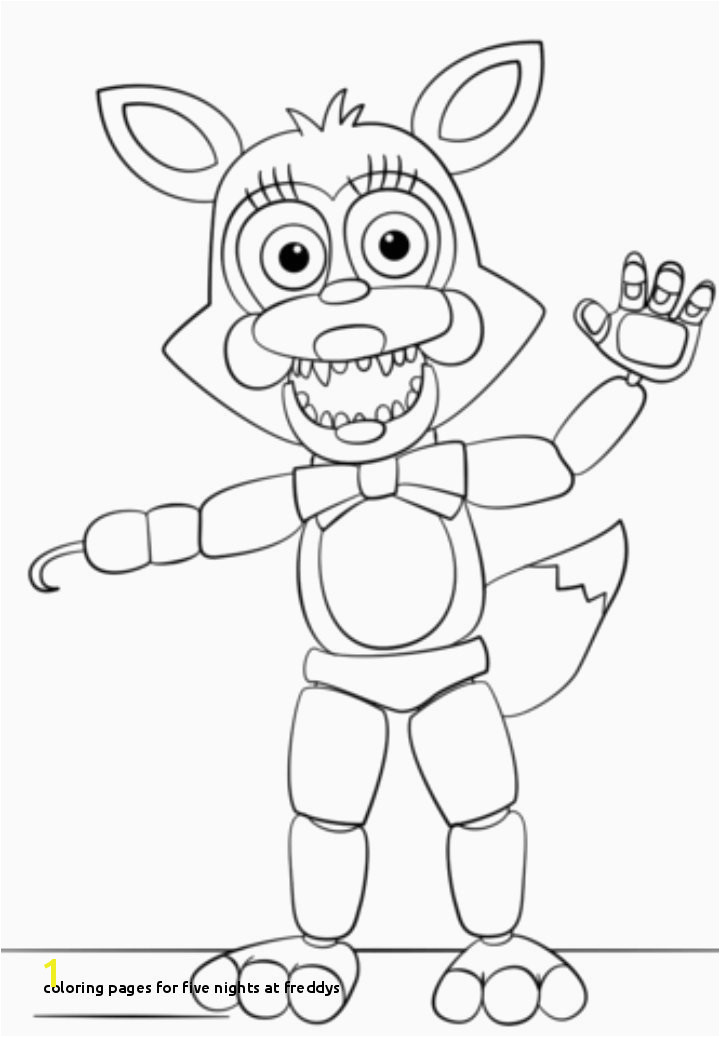 Coloring Pages for Five Nights at Freddys 30 Elegant Fnaf 5 Coloring Pages Collections
