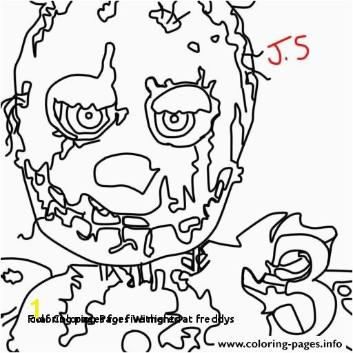 Coloring Pages for Five Nights at Freddys Fnaf Coloring Pages withered Beautiful Fnaf withered Chica Coloring