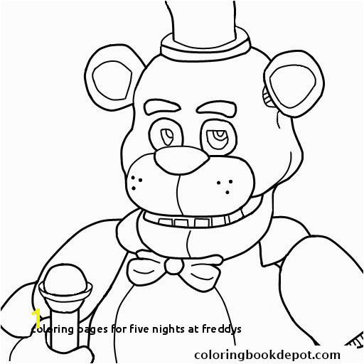 Coloring Pages for Five Nights at Freddys Fnaf Coloring Pages Printable Unique Five Nights at Freddys Fnaf