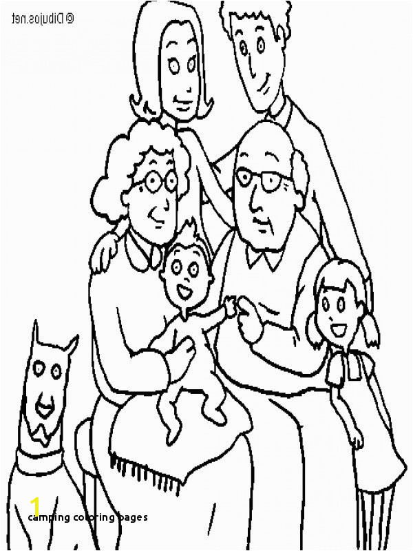 Camping Coloring Pages New Colouring Pages Printable Colouring Family C3 82 C2 A0 0d Fun