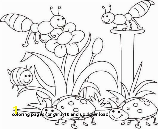 Coloring Pages for Girls 10 and Up Download Spring Coloring Sheets Spring Coloring Pages Best Printable Cds 0d