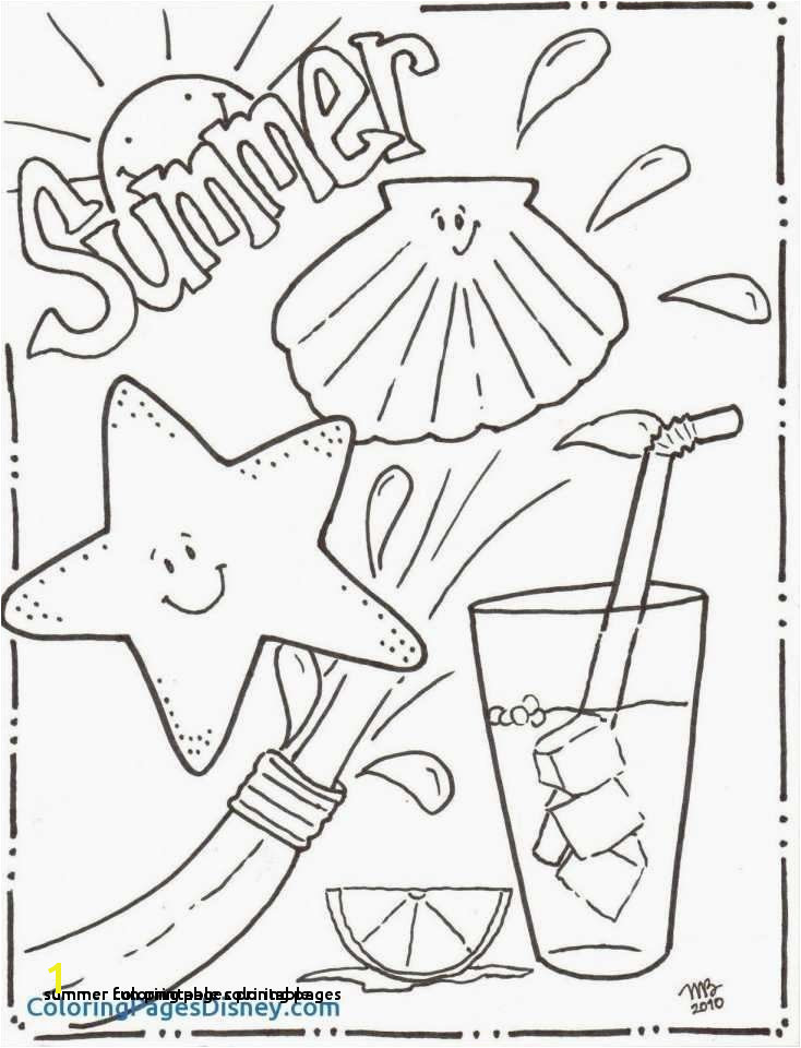 Summer Coloring Pages Printable Printable Cds 0d – Fun Time Summer
