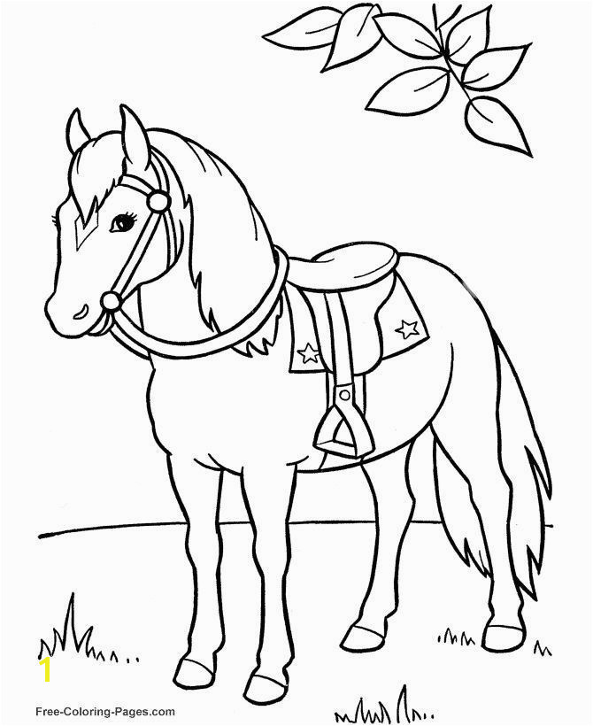 Free Horse Coloring Pages Lovely Animal Coloring Pages Horse Coloring Page Free Horse Coloring Pages