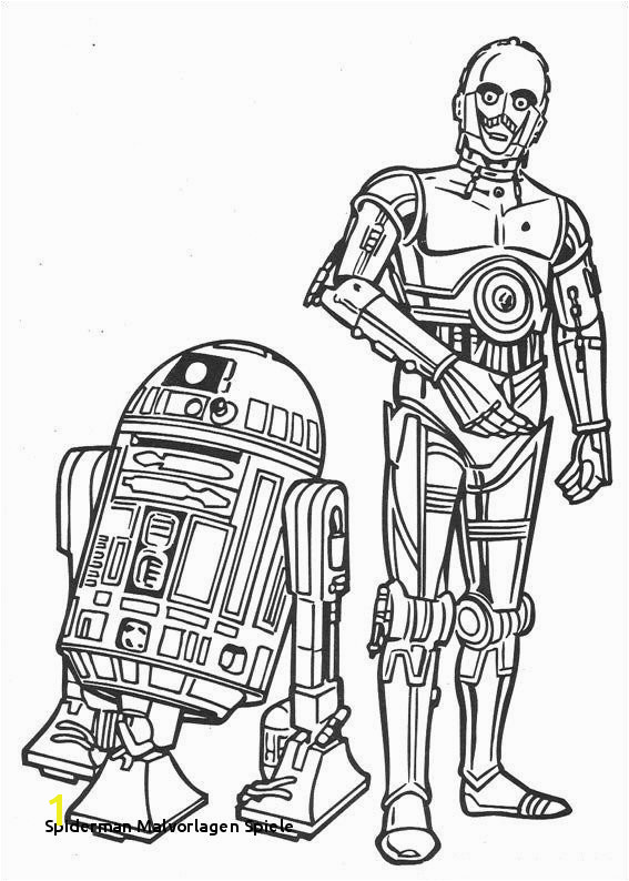 Coloring Pages Kids N Fun Spiderman Malvorlagen Spiele Coloring Page Star Wars Kids N Fun