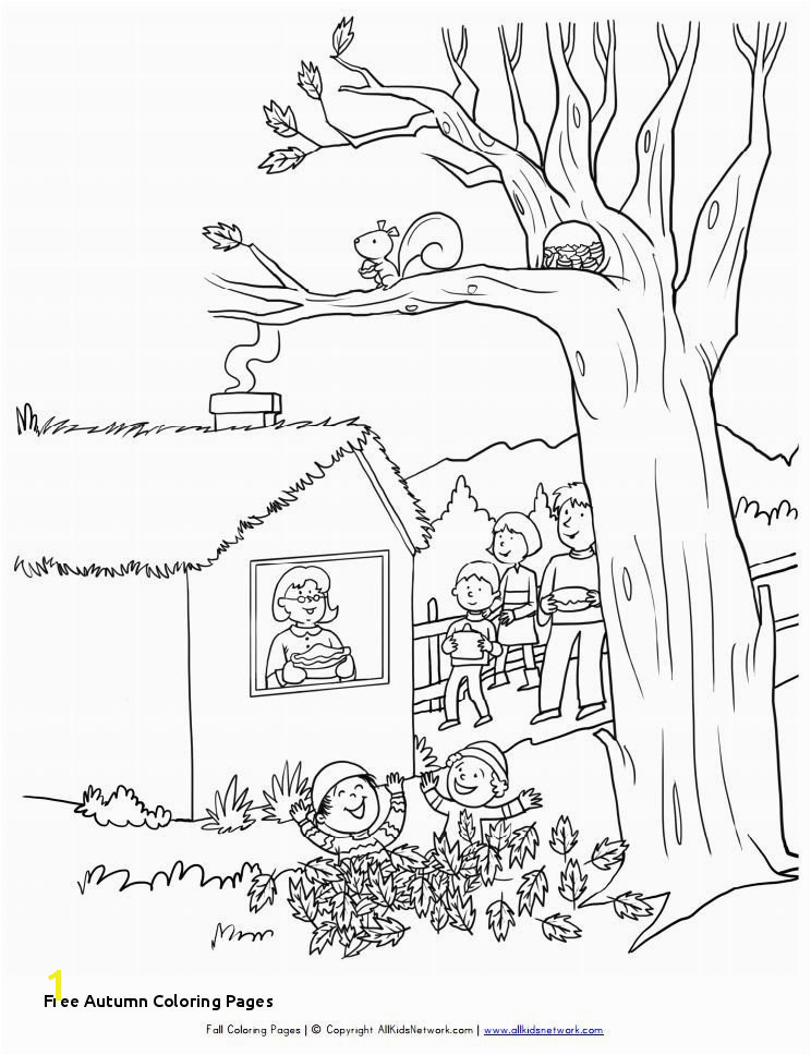 Free Autumn Coloring Pages Coloring Pages Leaves Autumn Best Coloring Printables 0d – Fun