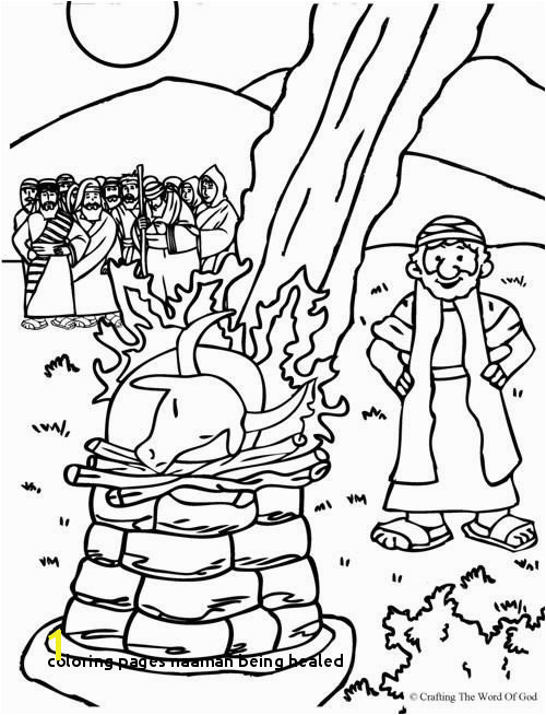 Elijah And The Prophets Baal Coloring Page from Crafting the
