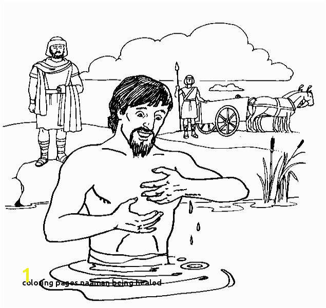 Coloring Pages Naaman Being Healed 21 Coloring Pages Naaman Being Healed