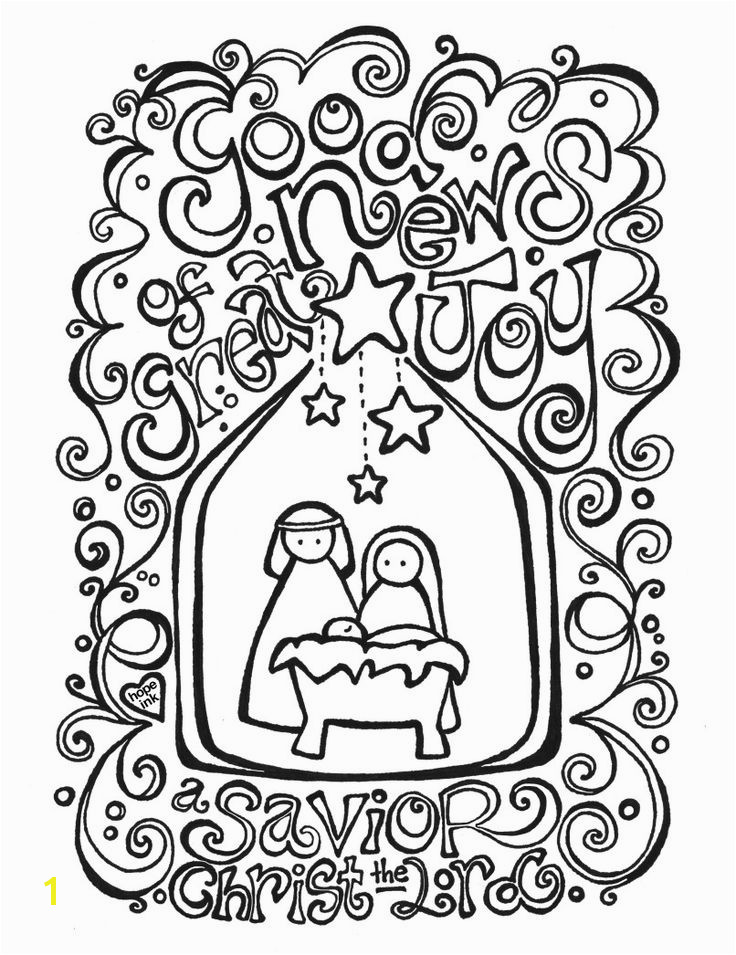 Christmas Coloring Pages Nativity Free Printable – Printable Coloring Pages