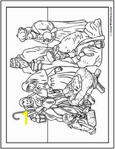 Coloring Pages Nativity Figures 30 Best Nativity Coloring Pages Images On Pinterest