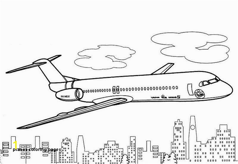 Planes Coloring Pages Ship Coloring Pages