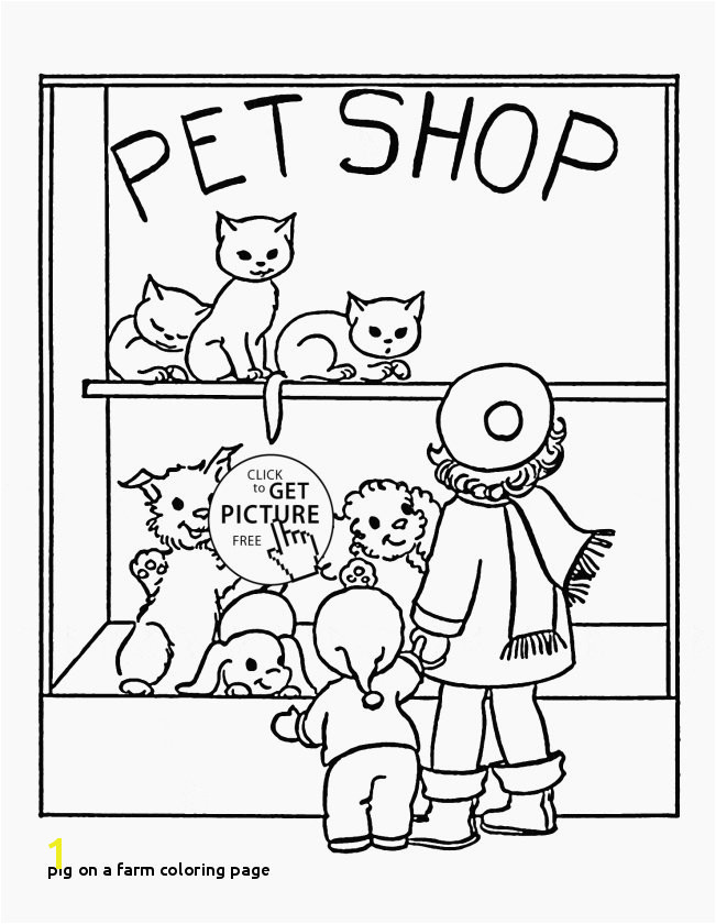 Coloring Pages Of Baby Pigs Pig A Farm Coloring Page Best Cute Pig Coloring Pages Kids Coloring