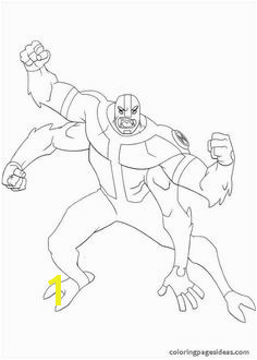Ben 10 Coloring Pages Way Big Coloring For Kids Coloring Pages For Kids Coloring