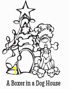 Coloring Pages Of Dog Houses 23 Best Dogs Images