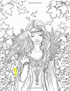 Artist Selina Fenech Fantasy Coloring pages colouring adult Raven