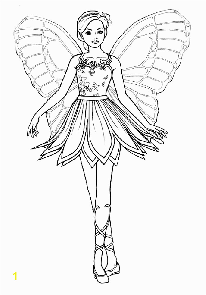 Free Printables TONS of Fairy Coloring Pages