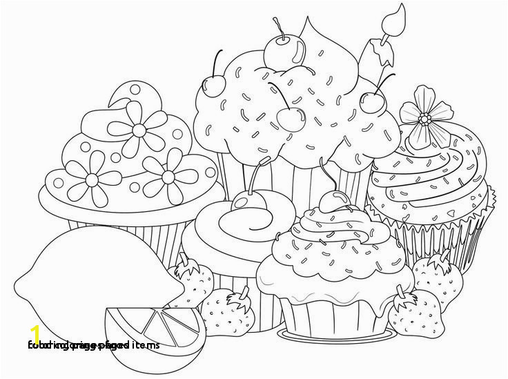 Coloring Pages Food Items Food Coloring Pages New Fitnesscoloring Pages 0d Archives Coloring