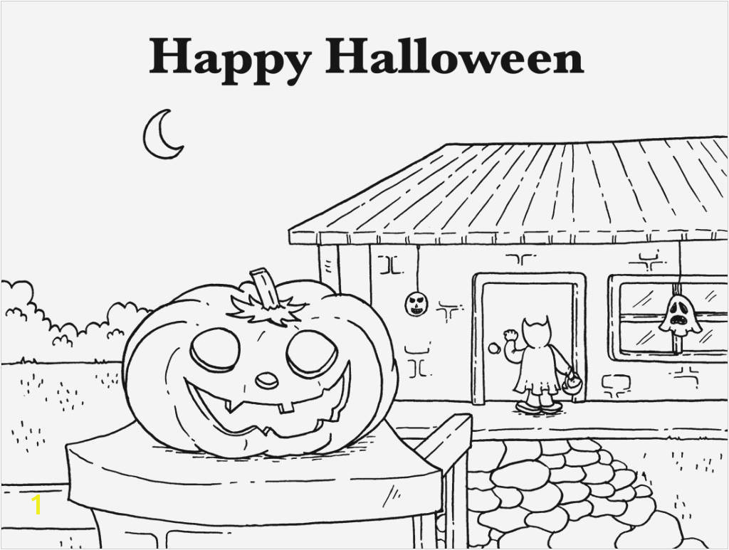 Beautiful Haunted House Coloring Pages Coloring Haunted