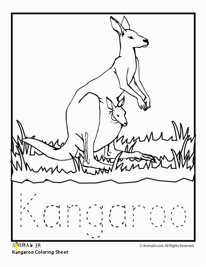 Kangaroo Coloring Page Inspirational Kangaroo Coloring Sheet Jordan Coloring Pages Beautiful 24 Best Kangaroo Coloring