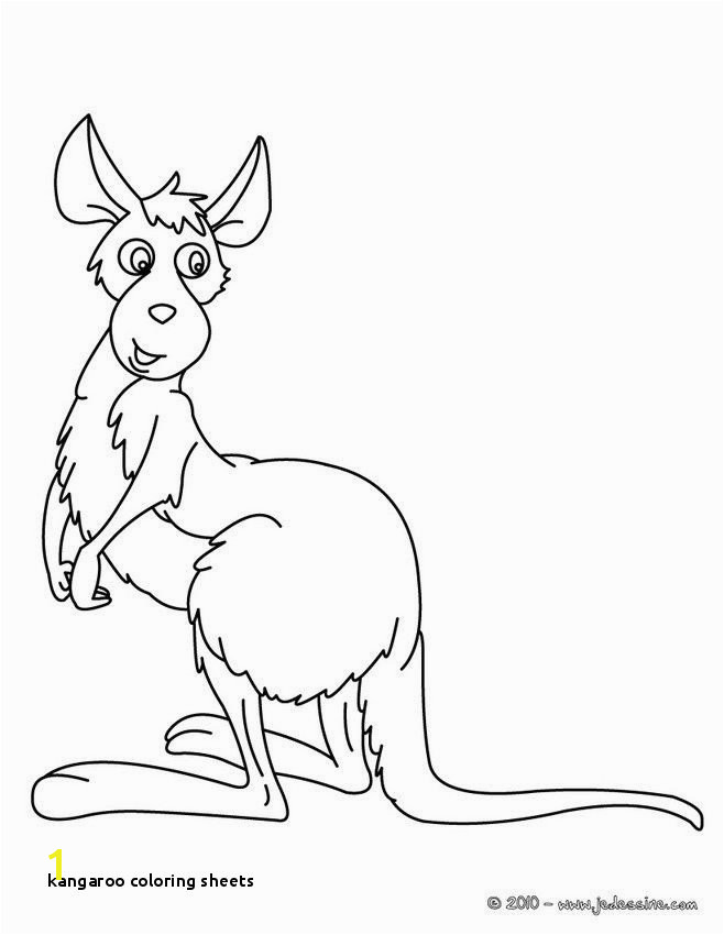 Kangaroo Coloring Sheets Kangaroo Coloring Page ¢‹†…¡ Best Coloring Pages Fresh Printable Cds