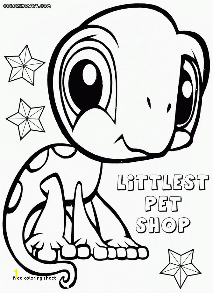 Free Coloring Sheet Free Coloring Pages Pets for Kids for Adults In Best Home