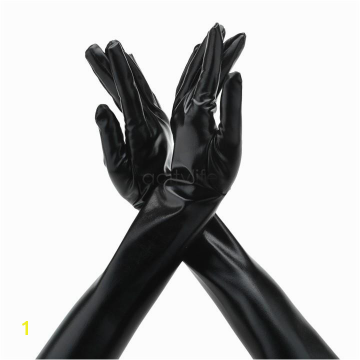 2019 Lady Gloves Mittens y Patent Long Leather Gloves y Fitting Women S Gloves For Evening Party Wedding Dress Sv18 Sv From Daiki