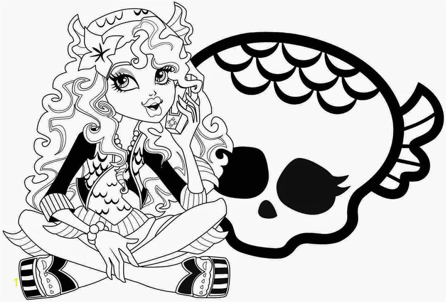 Monster High coloring pages coloringlminspector