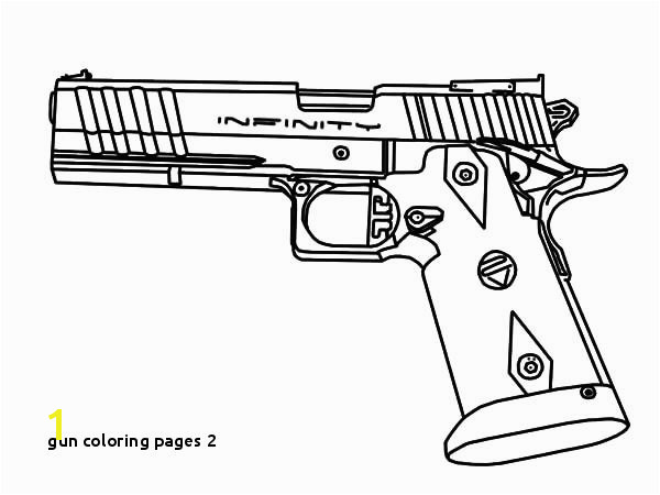 Gun Coloring Pages 2 Pistole Coloring Pages