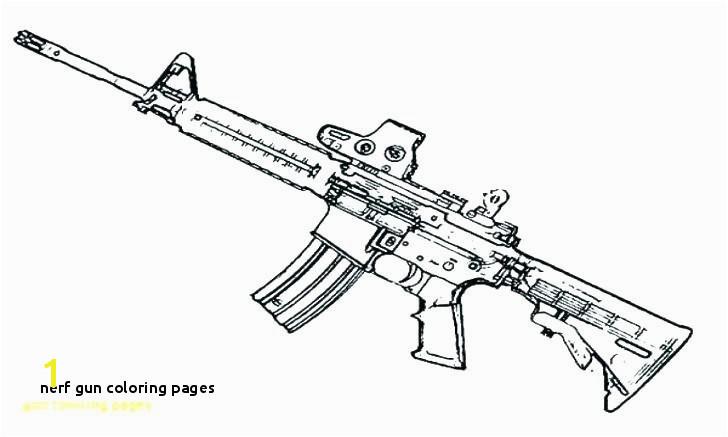 728x437 Nerf Gun Coloring Pages Nerf Gun Coloring Pages Luxury Easy Gun Nerf Gun Sketch