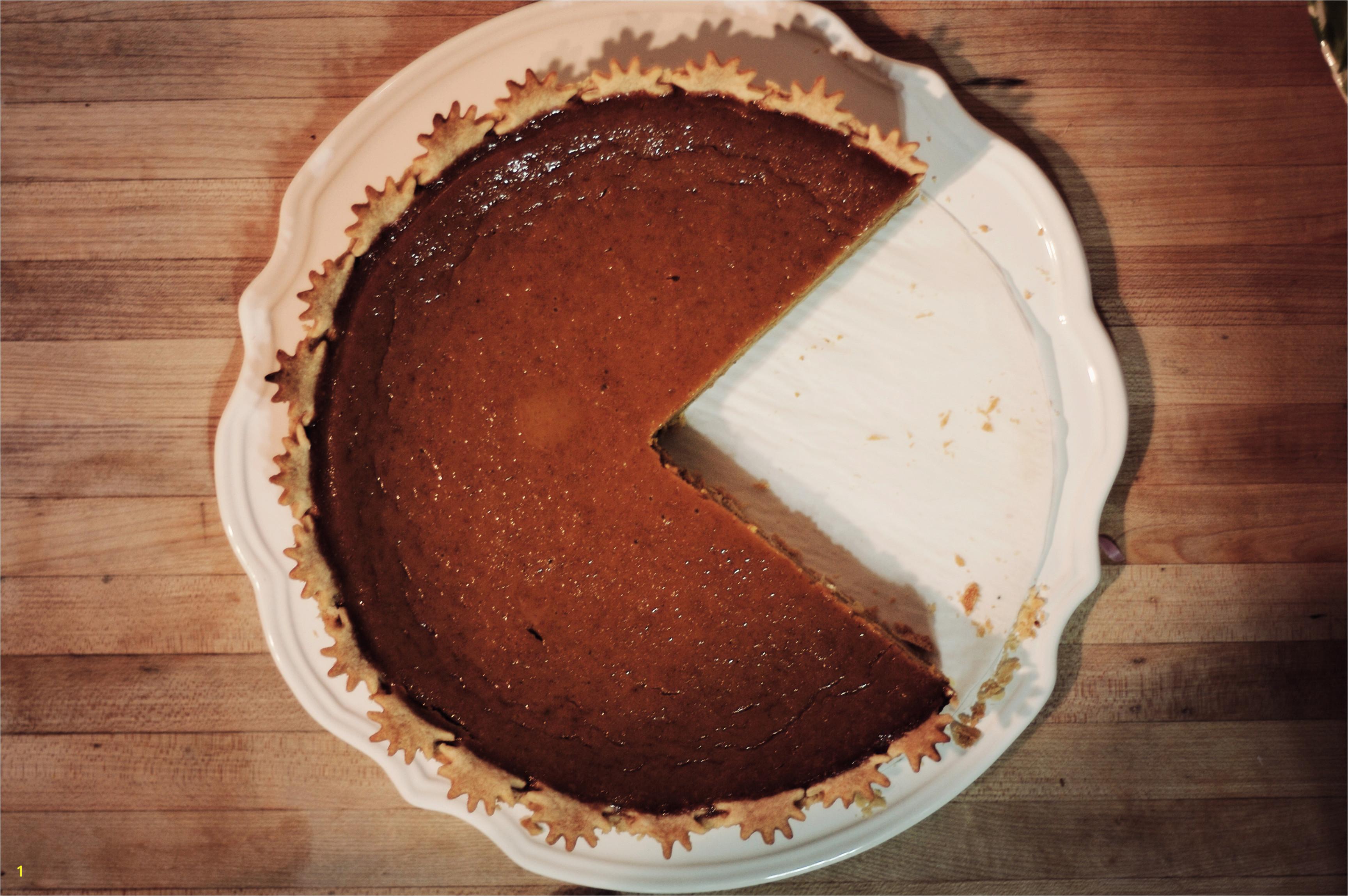 Nom nom nom pacman pumpkin pie