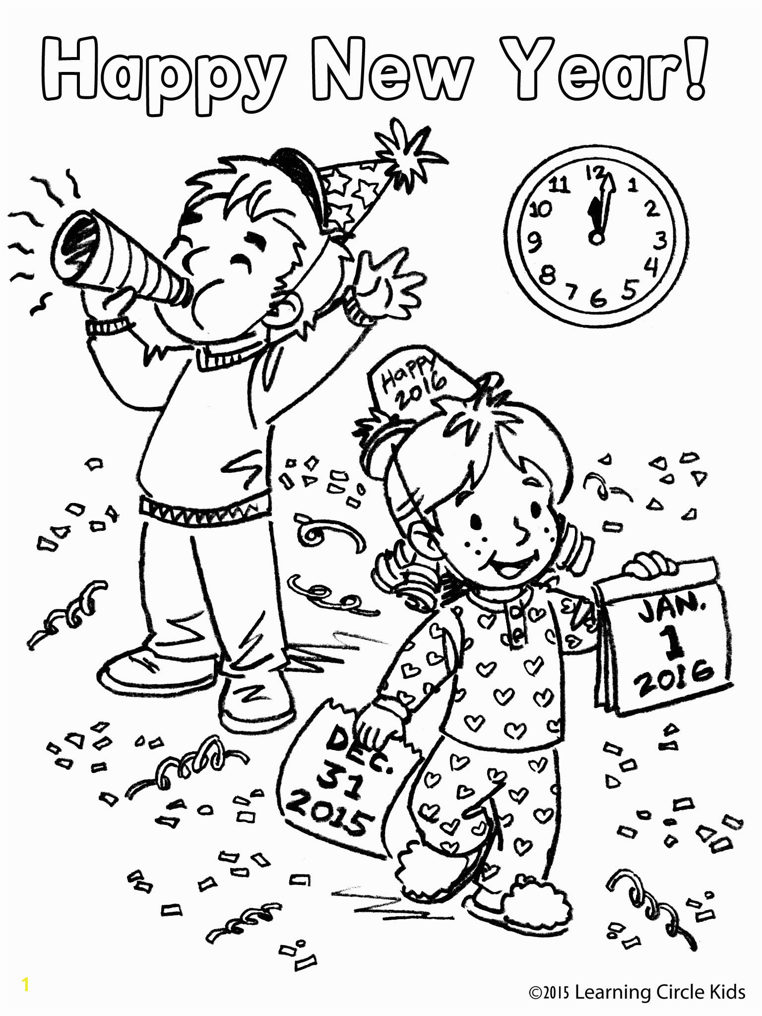 Rainbow Brite Coloring Pages Free Coloring Page for Kids New Year Party Download