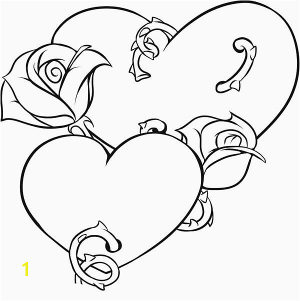 Coloring Pages Hearts and Flowers Elegant Vases Flower Vase Coloring Page Pages Flowers In A