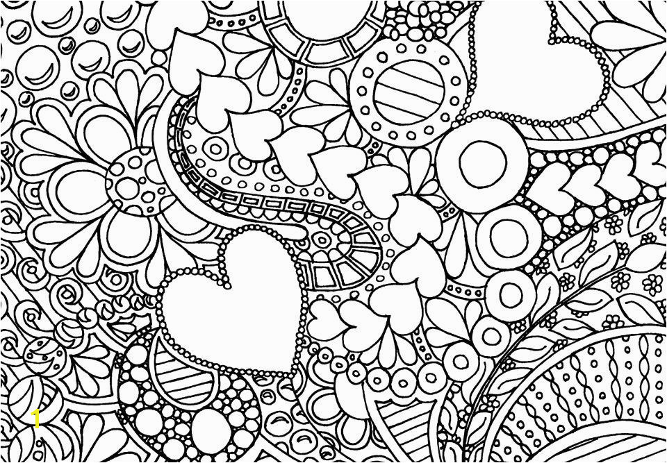 Hearts and Flowers Hearts and Flowers Coloring Pages