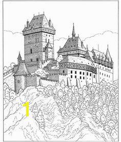 castle Kleurplaat kasteel Printable Coloring Pages Coloring Pages To Print Coloring Sheets Adult