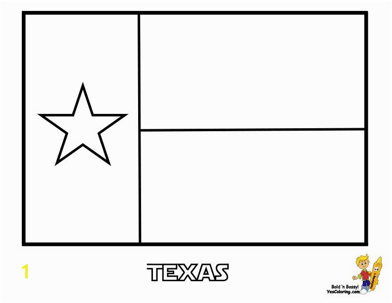 Texas Flag Coloring Page Luxury Texas Template for Kids 43 Texas State Flag Coloring at Coloring