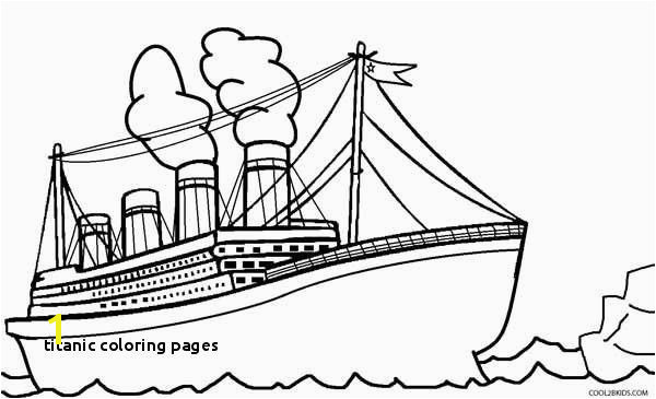 22 Titanic Coloring Pages