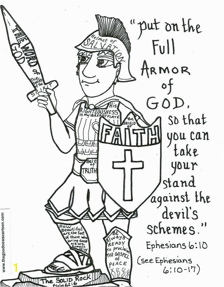 Tattle tongue Coloring Page Put the whole Armor God Coloring Page Colouring Pages Tattle tongue Coloring