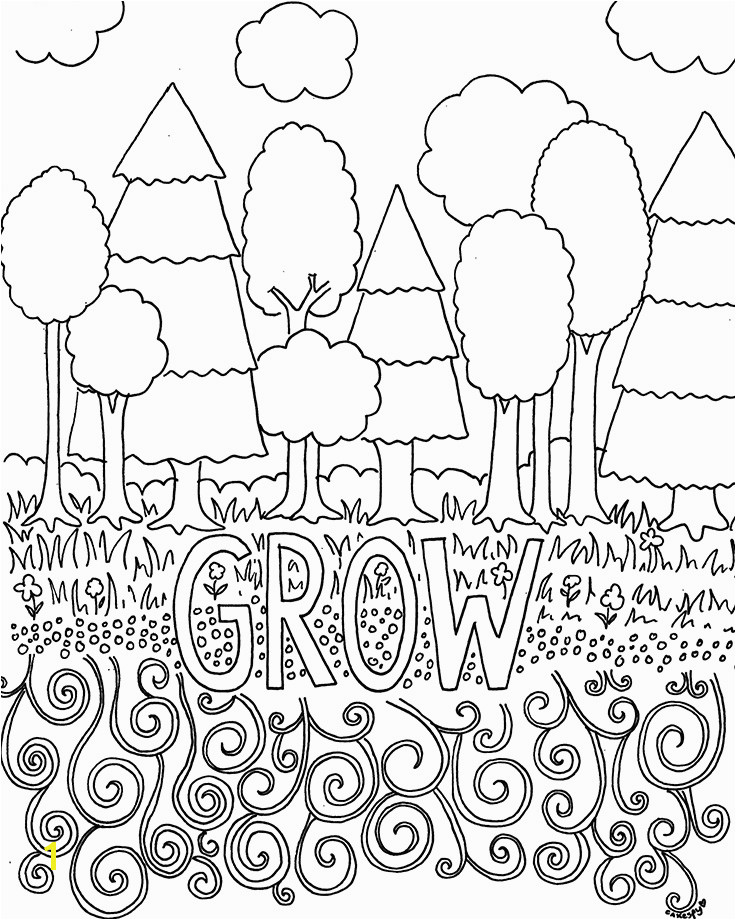 Coloring Pages Of Trees and Flowers Free Coloring Pages for Adults Trees & Flowers