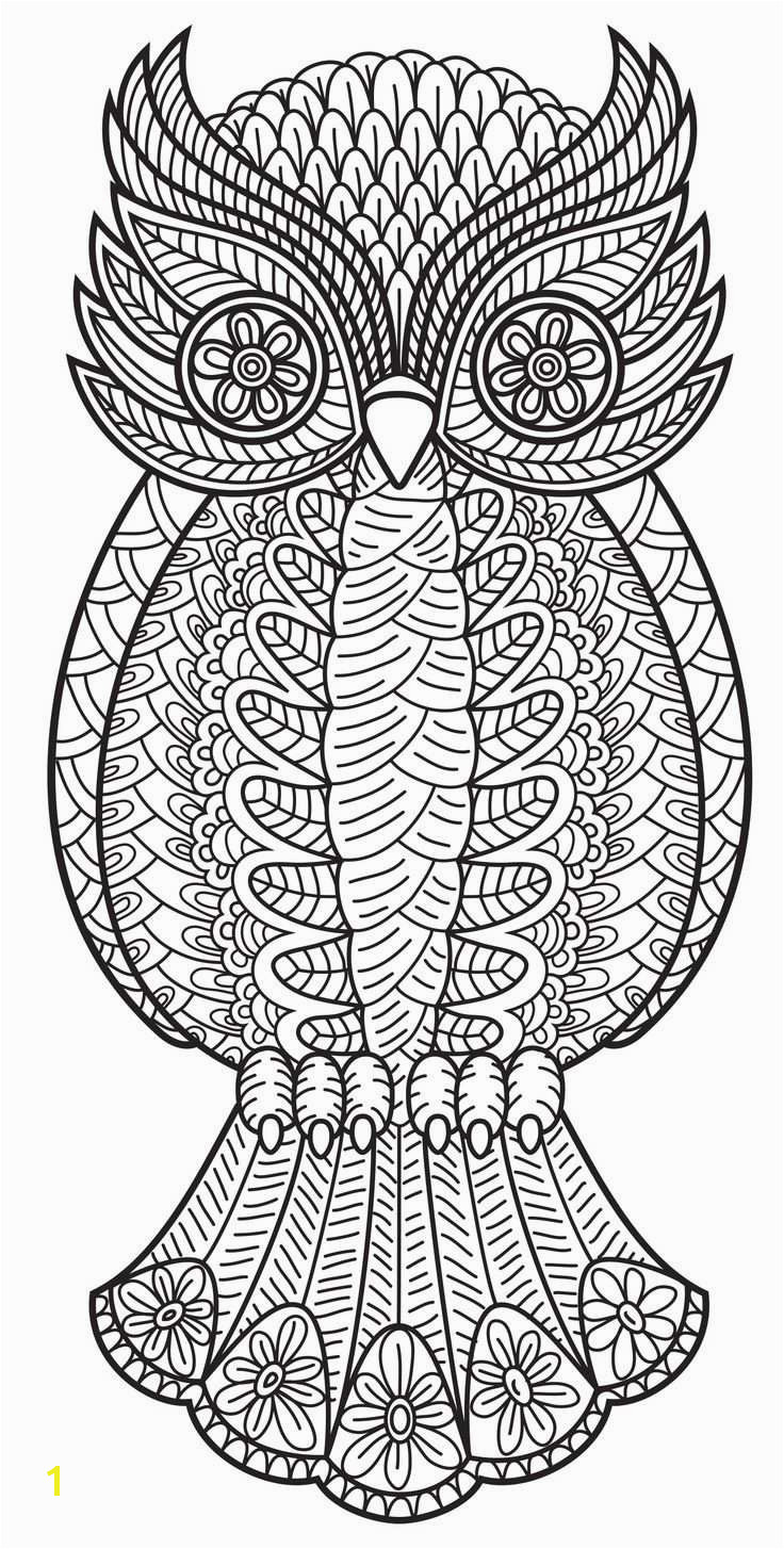 Owl Design Coloring Pages Best Adult Coloring Pages Owl Free Collection Owl Design Coloring
