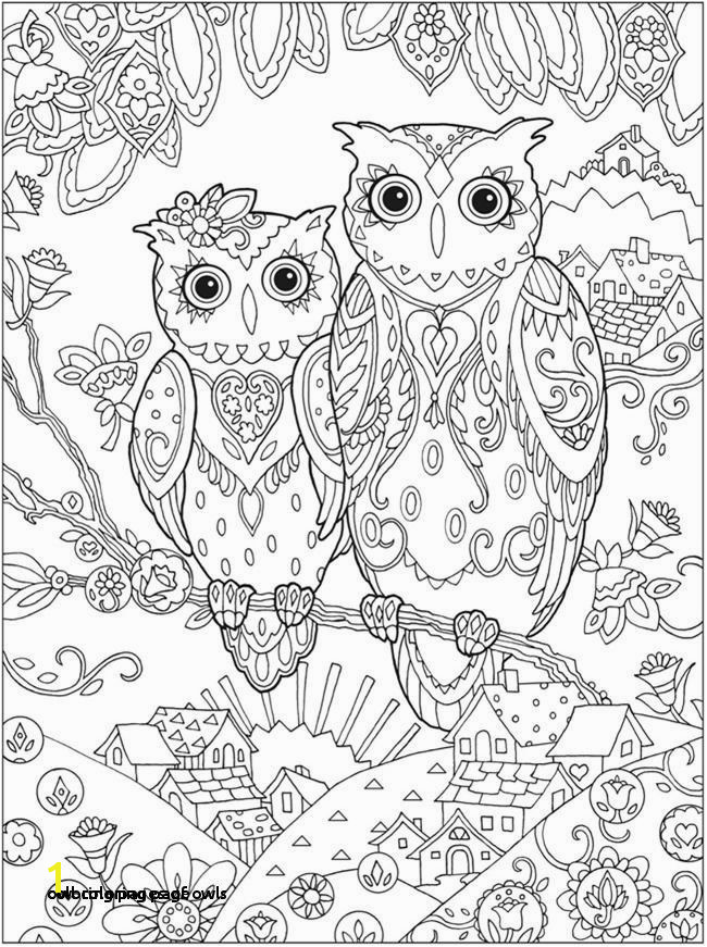 Printable Owl Coloring Pages Inspirational Coloring Pages Owls Owl Coloring Page Printable Coloring Pages Printable