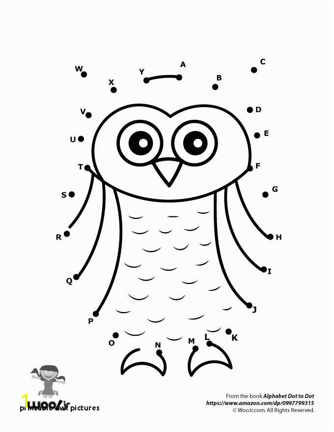 Printable Dot to Dot Worksheets Emerging 0d Transition Metal Owl