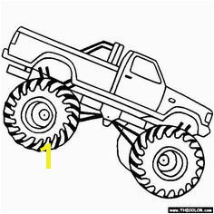Free Monster Truck Coloring Pages Color in this picture of a Bad Boy Monster Truck and others with our library of online coloring pages