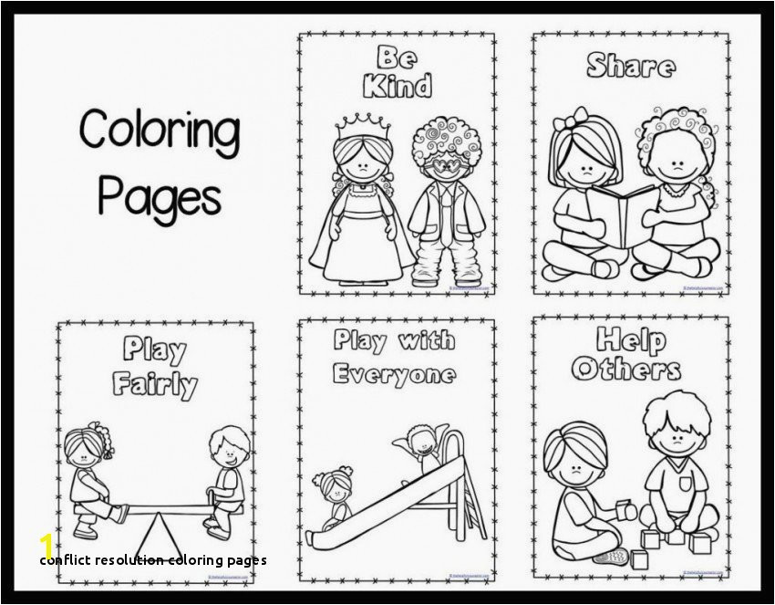 Conflict Resolution Coloring Pages Kelso S Choices Coloring Pages