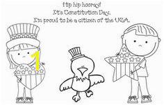 Constitution Day activities FREE Constitution Day coloring page Kindergarten Social Stu s Teaching Social