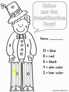 Constitution Day Coloring Code Classroom Constitution Constitution Day Kindergarten Social Stu s Teaching Social