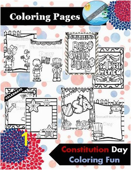 CONSTITUTION DAY coloring pages activities