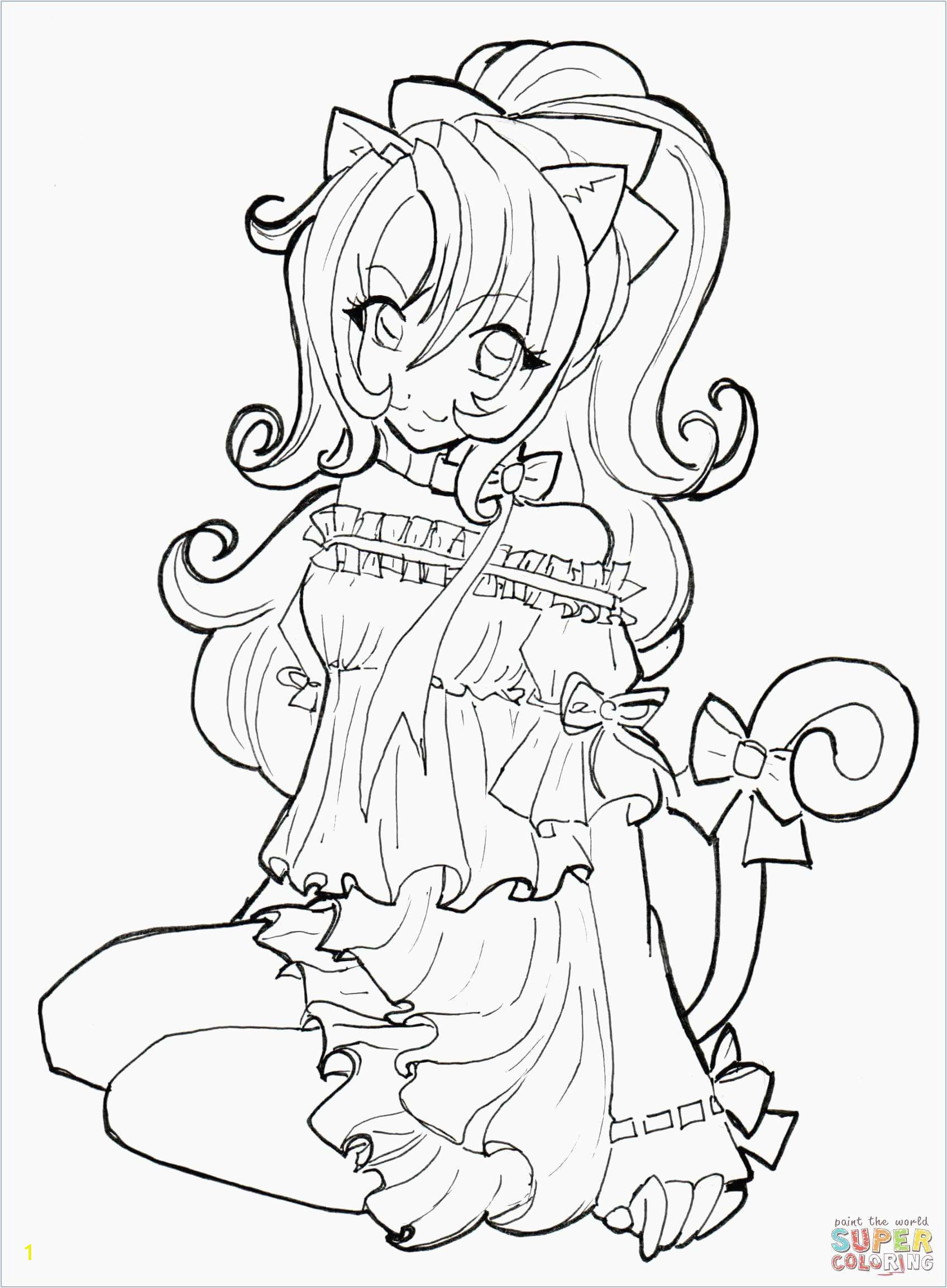 Cool Anime Girl Coloring Pages Cute Coloring Pages Luxury Witch Coloring Page Inspirational Crayola