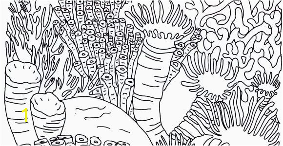 Coral Coloring Pages Fresh Coral Reefs Coloring Pages 10 Unique Coral Coloring Pages