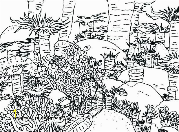 Coral Reef Coloring Page Coral Reef Coloring Pages Coral Reef Coloring Sheet Barrier Reef