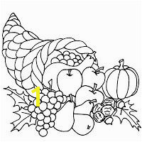 Thanksgiving Cornucopia Coloring Pages Printable Coloring Pages Fruit Coloring Pages Fall Coloring Pages