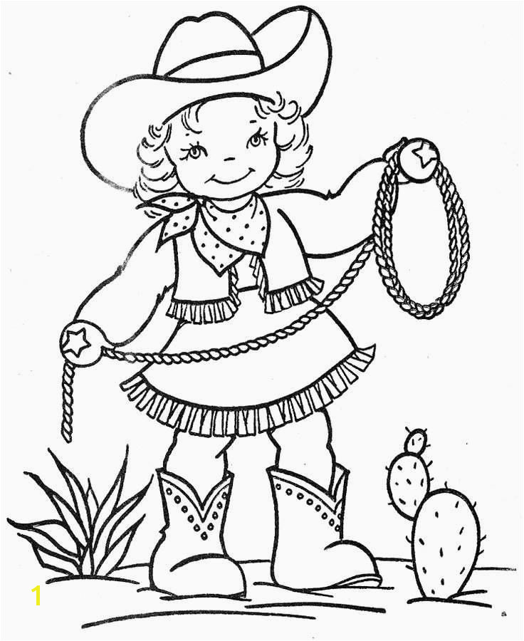 Cowgirl Coloring Pages Printable Cowboy Coloring Pages Best Cowboy and Cowgirl Coloring Pages